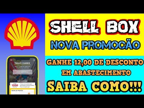 SHELL BOX Ganhe R$12,00 em desconto no seu abastecimento