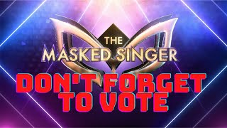 The Masked Singer Youtube Style - Don't Forget To Vote