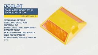 3M Plastic Road Stud - 10*10*2cm - 15 Ton