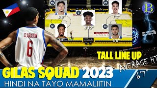 Gilas Line Up for Fiba World Cup 2023   Lakas nito   Ideal Line Up