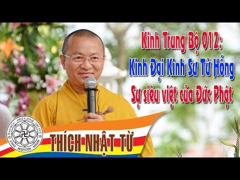 Kinh Trung Bộ 12 (Đại Kinh Sư Tử Hống) - Sự siêu việt của đức Phật (24/04/2005)