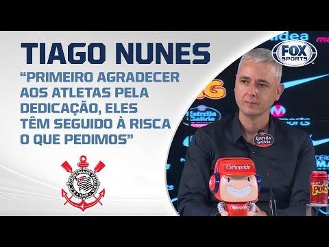 Tiago Nunes AO VIVO! Coletiva do técnico do Corinthians após vitória na estreia do Paulistão