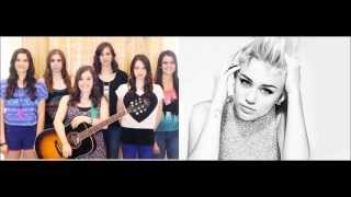 Wrecking Ball - Cimorelli and Miley Cyrus