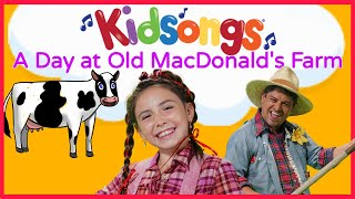 Kidsongs:A Day at Old MacDonald's Farm | Mary Had a Little Lamb | This Old Man | for kids | PBS Kids