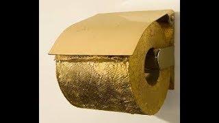 Австралийцы создали рулон туалетной бумаги из ЗОЛОТА