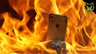 Will a Flamethrower Destroy an iPhone 7?