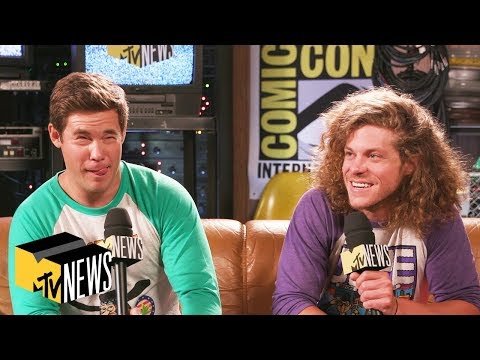 Adam DeVine & Blake Anderson Talk 'Fabulous Furry Freak Brothers' & Superhero Stoners | MTV News