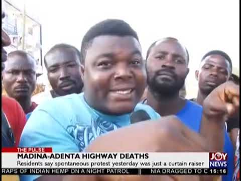 Madina-Adenta Highway Deaths - The Pulse on JoyNews (9-11-18)