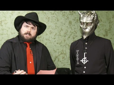 Weird Satanist Guy Interviews Namelss Ghoul from Ghost (Welcome to the Shadow Zone)