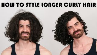 How To Style Longer Curly Hair