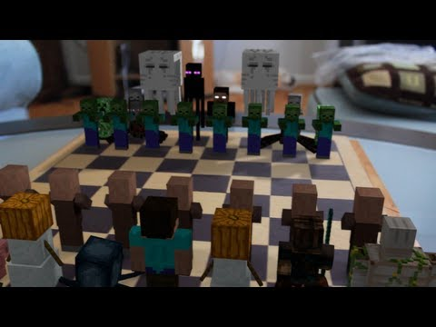 Minecraft Chess in Real Life - Animation (Concept Trailer ...