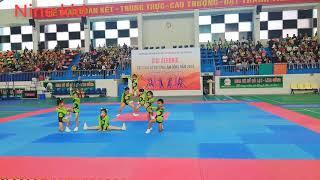 Múa mẹ ơi tại sao cực đẹp: Hội thi aerobic các câu lạc bộ tỉnh Lâm Đồng - Trường mầm non