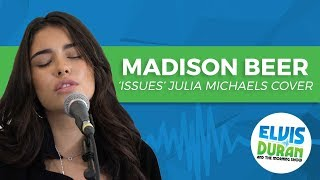 """Madison Beer - """"Issues"""" Julia Michaels Acoustic Cover   Elvis Duran Live"""