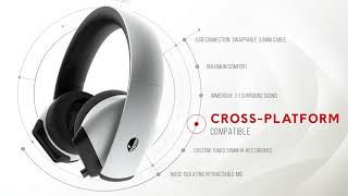 YouTube Video ERJ4CUnCSvI for Product Dell Alienware AW510H 7.1-Channel Gaming Headset by Company Dell in Industry Headphones