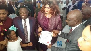 preview picture of video 'EBONYI STATE GOV. ELECT, ENGR. DAVID NWEZE UMAHI, RECEIVES CERTIFICATE OF RETURN FROM INEC.'