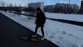 Vlog! Зимний скейтер!