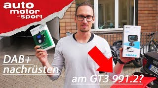 DAB+ nachrüsten: Wie funktioniert das? Heißer Scheiß #3 I auto motor und sport