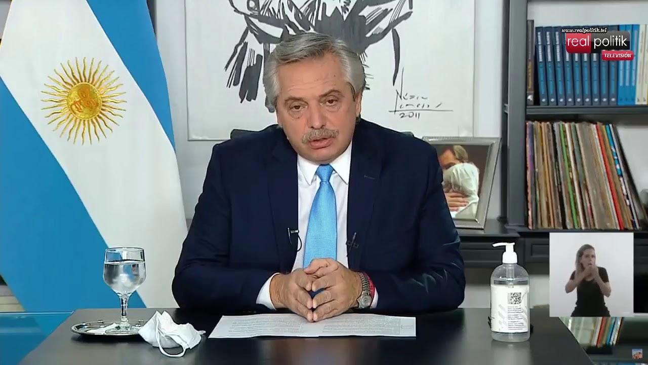 Alberto Fernández anuncia nuevas restricciones ante el aumento de casos de COVID-19