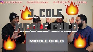 J. Cole   Middle Child (Official Audio)   REACTION!!