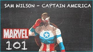 Wings and His Shield - Captain America Sam Wilson