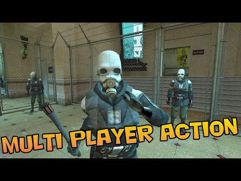 COOP Half Life 2 | SYNERGY multiplayer mod for HL2