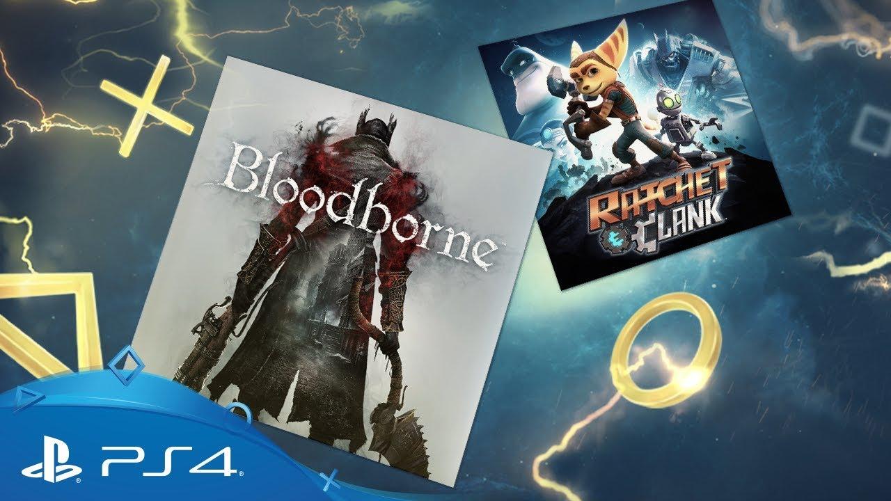 I tuoi giochi PS Plus di marzo sono Bloodborne e Ratchet & Clank