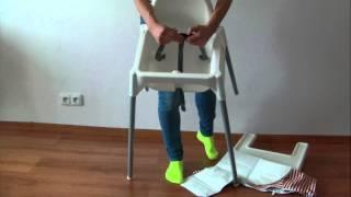 Jak poskládat židli IKEA Antilop