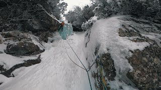 Ice Climbing in High Tatras and how we got there with a Car Train