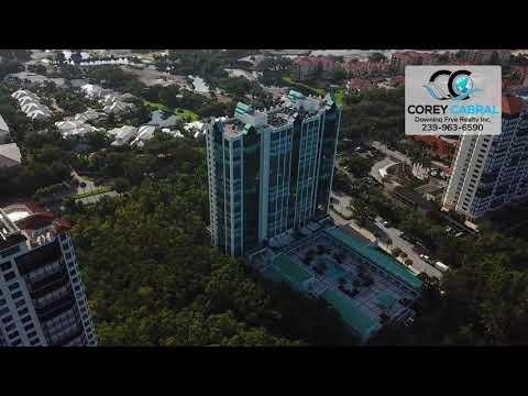 Pelican Bay Claridge Naples Florida 360 degree video fly over