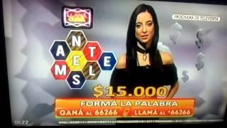 Fraude en el juego de FORMA LA PALABRA