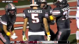 Friday Night Football Mission VS Pioneer Week 3 Game Highlights