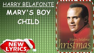 Harry Belafonte - Mary's Boy Child (Lyrics) | Christmas Songs Lyrics