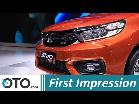 All New Honda Brio RS | First impression | GIIAS 2018 | OTO.com