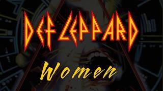 Def Leppard - Women (Lyrics) Official Remaster