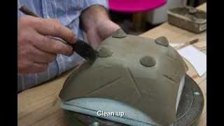 POTTERY - How To Make A Unique Ceramic Bowl.  クラーク陶芸教室千葉県市川市より。