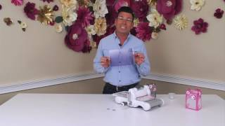 DIY Wedding Tools With David Tutera | Sizzix Big Shot Die Cutting Machine