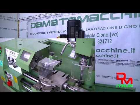 Combinado Torno Fresadora Taladro para Metales modelo Damatomacchine Multitech 800 Super
