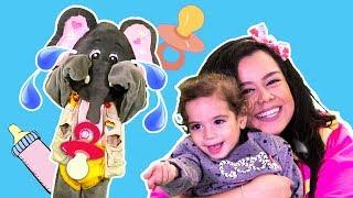Loly & Falfool - Baby Karim Visitng  | لولي وفلفول - زيارة بيبي كريم
