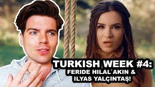 REACTION: FERIDE HILAL AKIN & İLYAS YALÇINTAŞ - ŞEHRIN YOLU | TURKISH WEEK 4