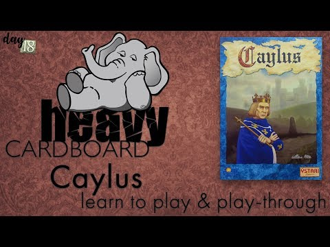 Caylus 4p Play-through, Teaching, & Roundtable discussion by Heavy Cardboard