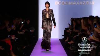 BCBG MAX AZRIA DownNew York Fashion Week Fall Winter 2014 2015 By Fashion Channnel