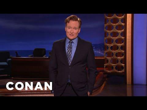 CONAN Monologue 02/14/17  - CONAN on TBS