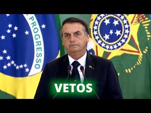 Bolsonaro veta 36 pontos da Lei de Abuso de Autoridade - 05/09/19