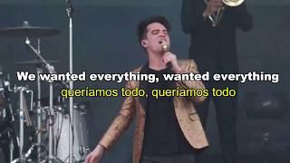 High Hopes  Panic At The Disco Lyricsletra En Español Live Version