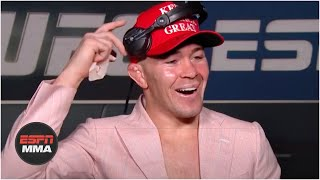Colby Covington gets a call from President Trump after his victory vs. Tyron Woodley | ESPN MMA