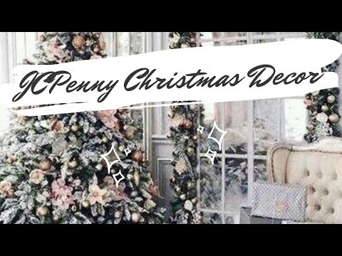 Christmas Home Decor JCPenny 🎄 Shop With Me