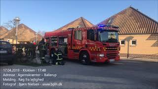 17.04.2019 – Person funde død i brænden lejlighed – Ballerup