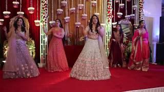 Grooms Sisters Dance At Wedding Sangeet Choreographer Sushant