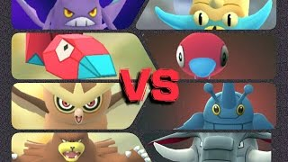 Donphan  - (Pokémon) - Pokémon GO Gym Battles 2 Gyms Porygon 2 Heracross Donphan Porygon Noctowl Ursaring Crobat & more