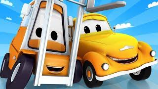 Odtahové auto pro děti - Vysokozdvižný vozík Francis měl nehodu